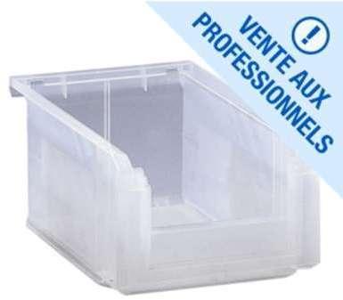 Bac à bec plastique translucide