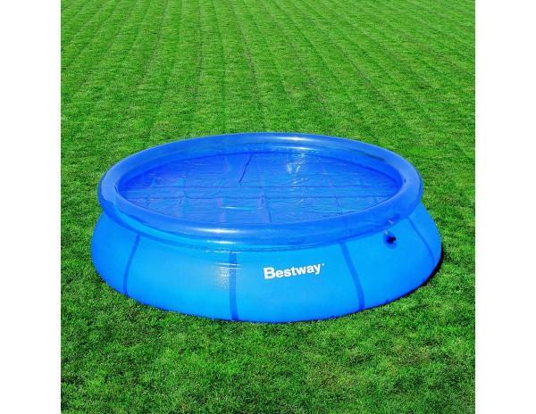 Bestway cbche t pour piscine autoportante ronde de 457 for Liner pour piscine bestway