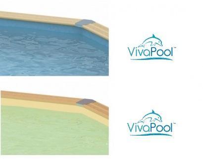 Liner piscine bois VivaPool