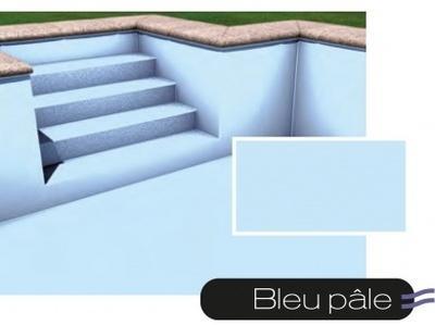 Liner piscine 75 100ème bleu