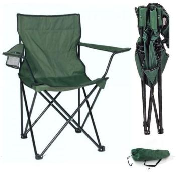 Fauteuil camping pliant vert