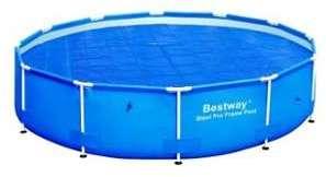 Bache été pour piscine tubulaire