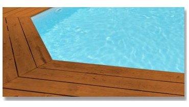 Liner piscine 75 100 bleu