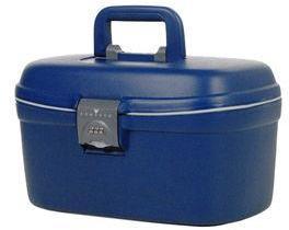 Vanity case Roncato Light 36 cm en polypropylène Bleu Marine ul7XgVN