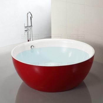 Baignoire ilot ovale acrylique