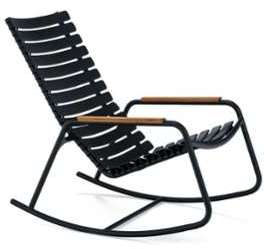 Clips fauteuil à bascule bambou
