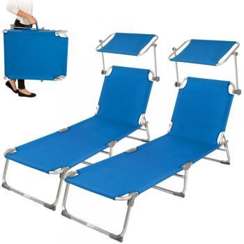 Chaise longue Transat Pliable