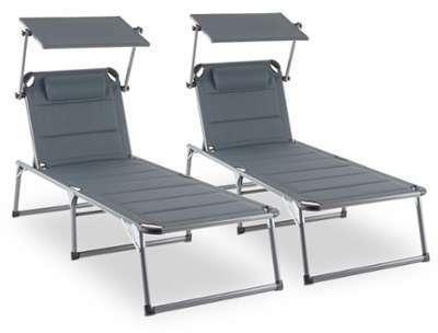 Amalfi Set transat 2 chaises