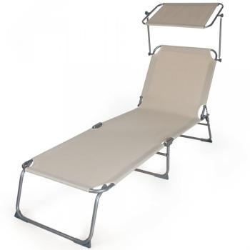 Chaise longue de jardin Transat