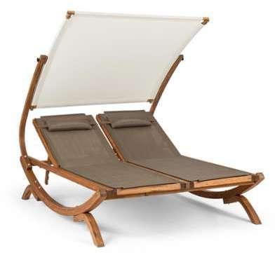 Sonnendeck Chaise longue double
