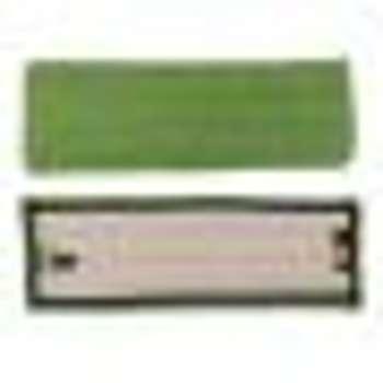 Frange microfibre verte à