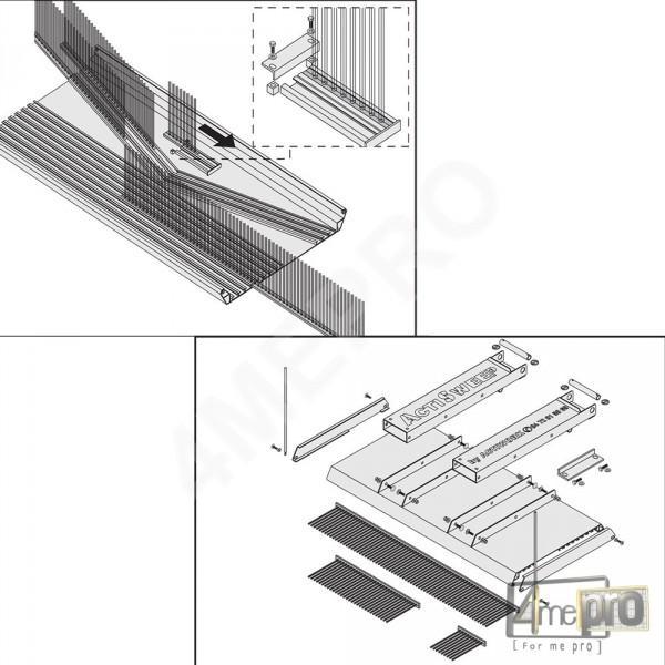 Option Montage Balais (1533-1840-2440mm)