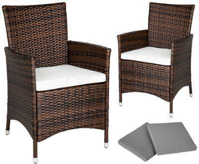 Set de 2 chaises en rotin