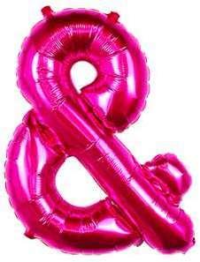 Ballon Lettre Fuchsia 90 cm