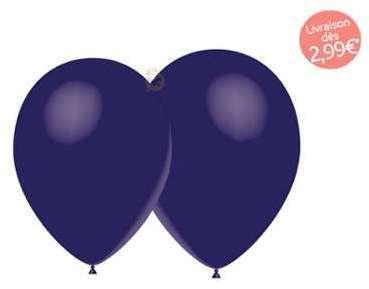 Ballons de baudruche bleu
