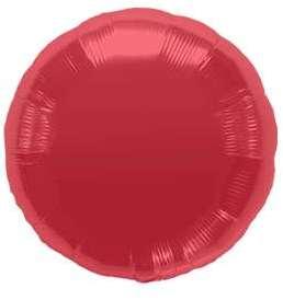 Ballon Rond Rouge 45 cm