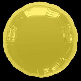 Ballon Rond Or 45 cm