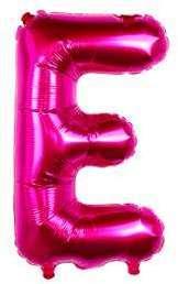 Ballon Lettre E Fuchsia 35