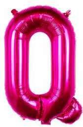Ballon Lettre Q Fuchsia 35