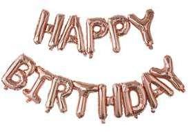 Ballons Happy Birthday Rose