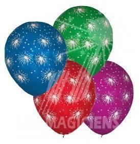 Ballons feu d artifice x 100