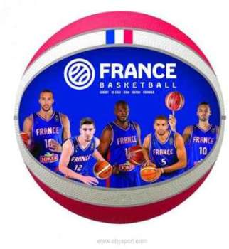 Ballon basket équipe de France