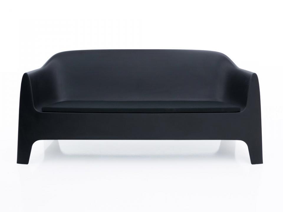 Canapé de jardin en polypropylène