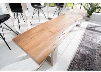 Banc style industriel en bois