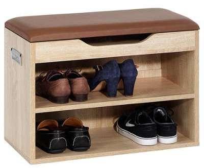 Banc avec étagères à chaussures