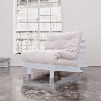 Roots 90 gris futon écru