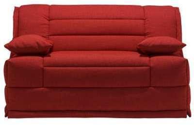 Canapé BZ rouge ARAGON