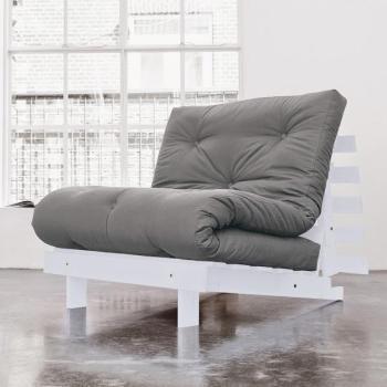 Roots 90 Gris futon gris