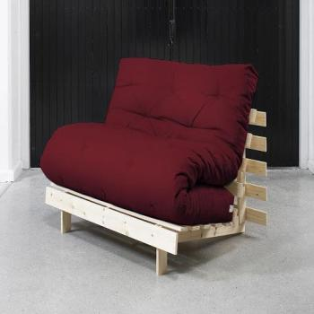 Roots 90 Naturel futon bordeaux