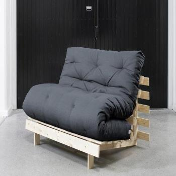 Roots 90 Naturel futon grey
