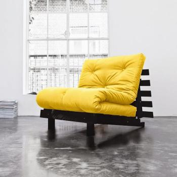 Roots 90 wengé futon amarillo