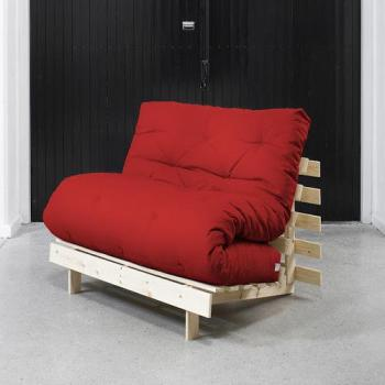 Roots 90 Naturel futon rouge