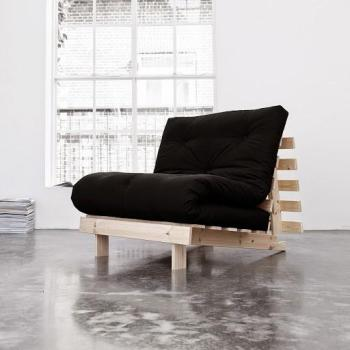 Roots 90 naturel futon noir