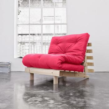 Roots 90 naturel futon magenta