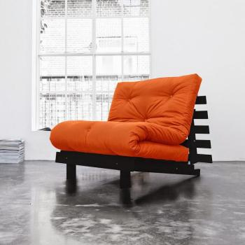 Roots 90 wengé futon orange