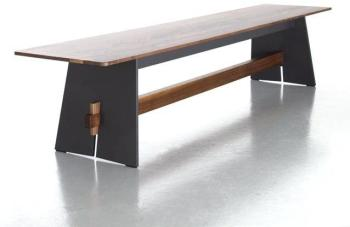 Tension Wood - Banc - anthracite