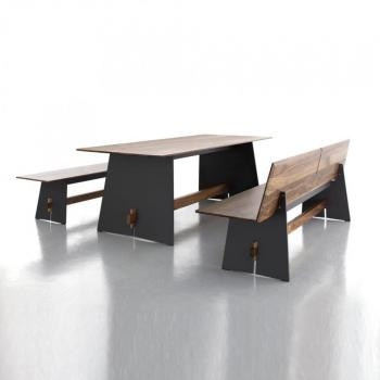 Tension Wood - Set - anthracite