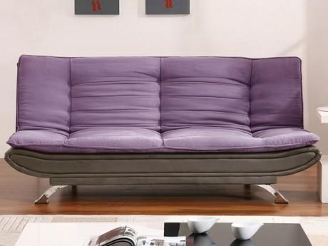 Canapé clic-clac en tissu