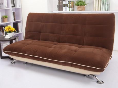 Canapé clic-clac en velours