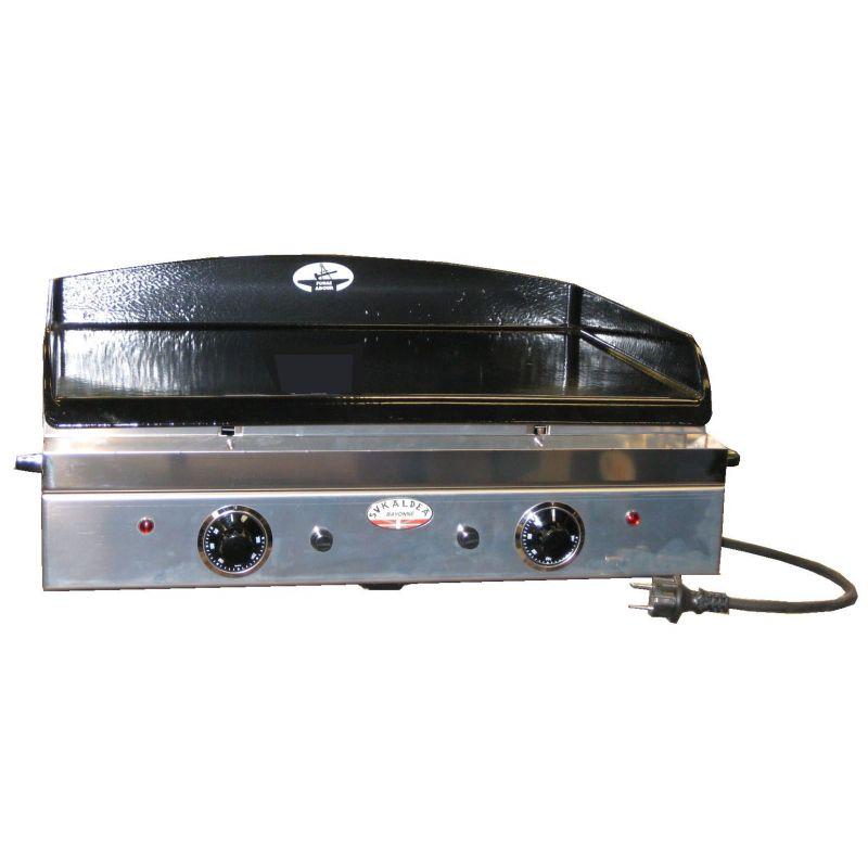 Plancha electrique forge adour sukaldea 600 for Plancha electrique interieur