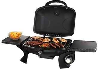Barbecue à gaz en fonte sur