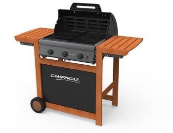 Barbecue gaz 3 brûleurs grill