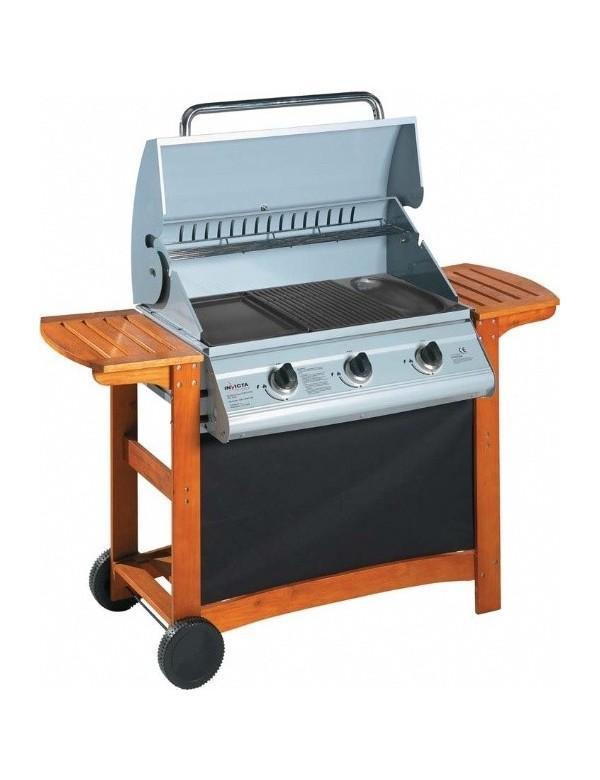 invicta barbecue poser au charbon de bois alexandrie 68. Black Bedroom Furniture Sets. Home Design Ideas