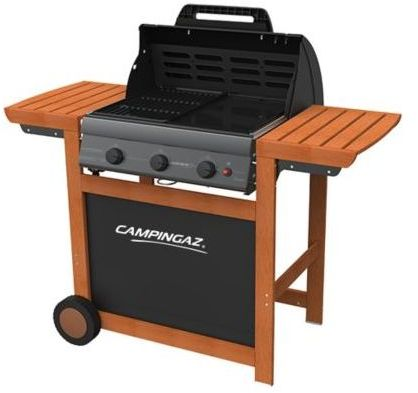 barbecue gaz campingaz adelaide 3 woody l 2017. Black Bedroom Furniture Sets. Home Design Ideas