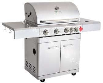 BARBECUE GAZ INOX PH NIX 4