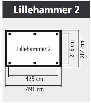 Pergola en bois Lillehammer